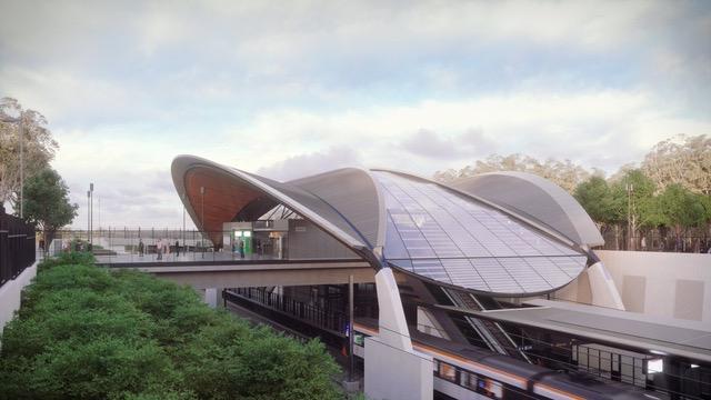 HASSEL-designed Sydney Metro Northwest
