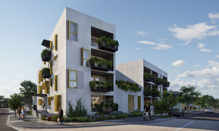 David Barr Architects' winning design