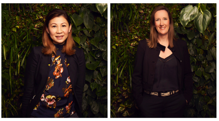new hires for Australian ethical, Australian ethical Quyen Dam, Joanne Robb pictured