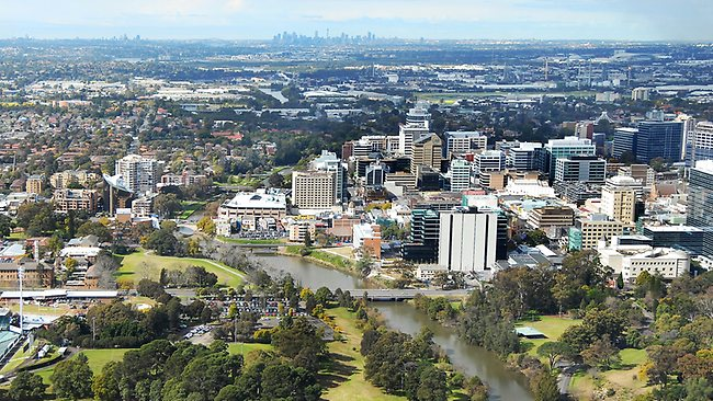 Parramatta, where we're heading for our ferry event, the Green Rebellion Goes West