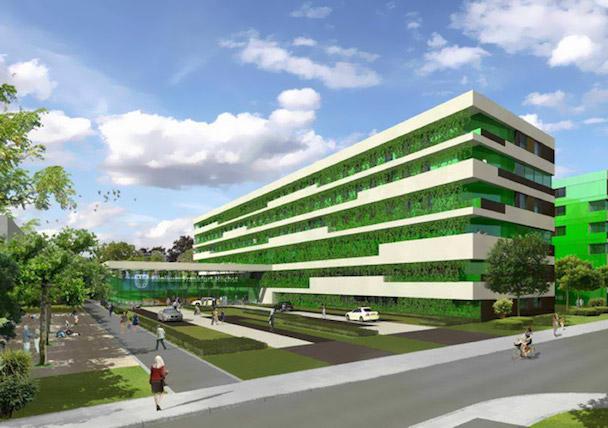 World's first passive hospital in Frankfurt