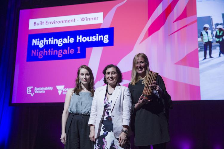 Nightingale winners Victorian Premier's Sustainability Awards 2017