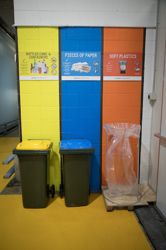 Vicinity recycling system war on waste