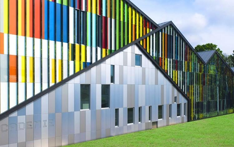 colourful, cladding, aluminium