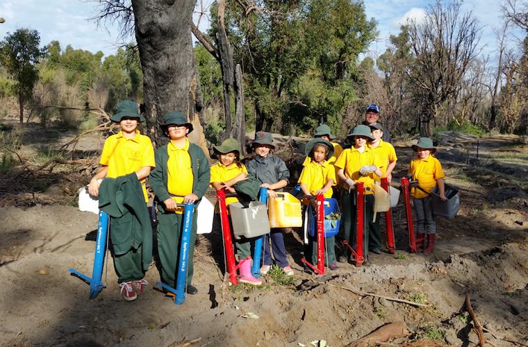 Ardross kids fight climate change