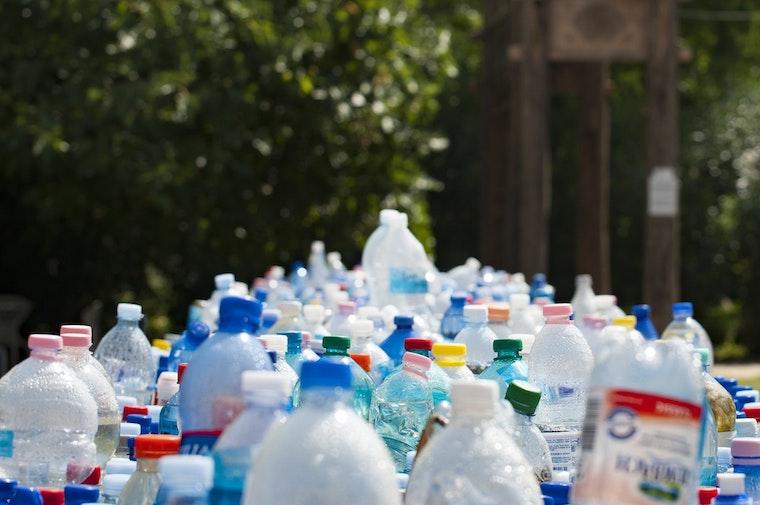 plastic bottle waste