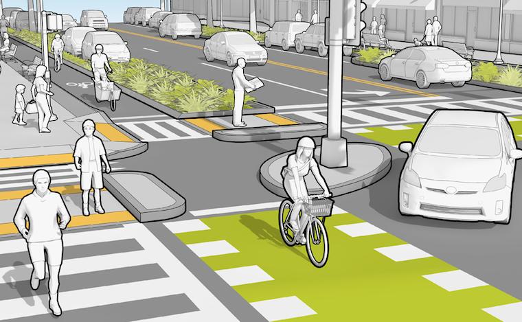 urbanism road design concept