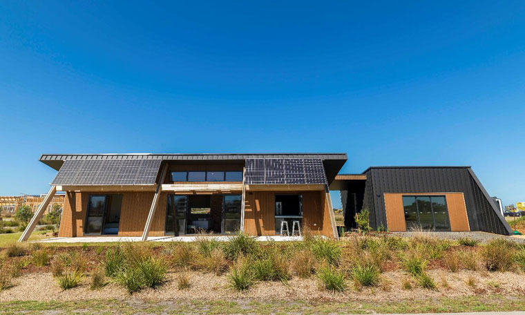 New carbon positive eco home hits the cape