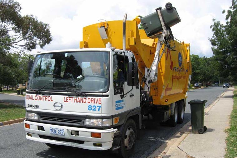 recycling australia truck