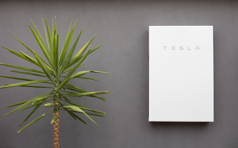 tesla unit for solar