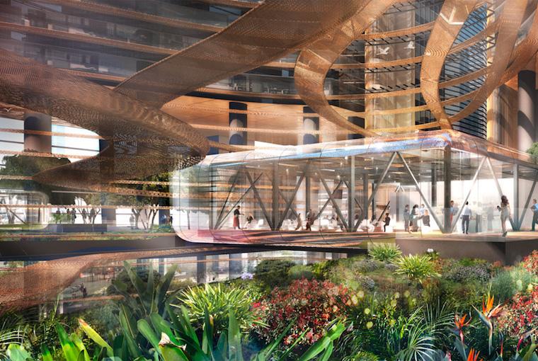 Marina One, Singapore, image: Artist's impression