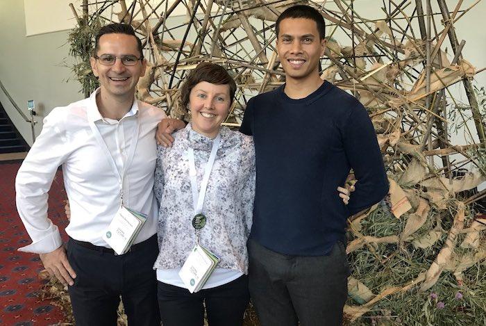 Paolo Bevilacqua, Briana Thompson and Stephen Choi, The Living Future Institute of Australia