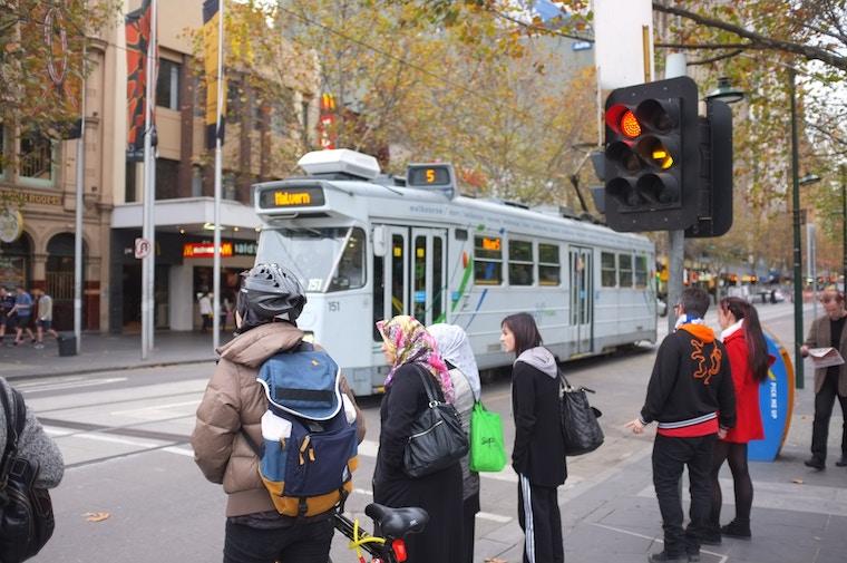 melbourne city tram