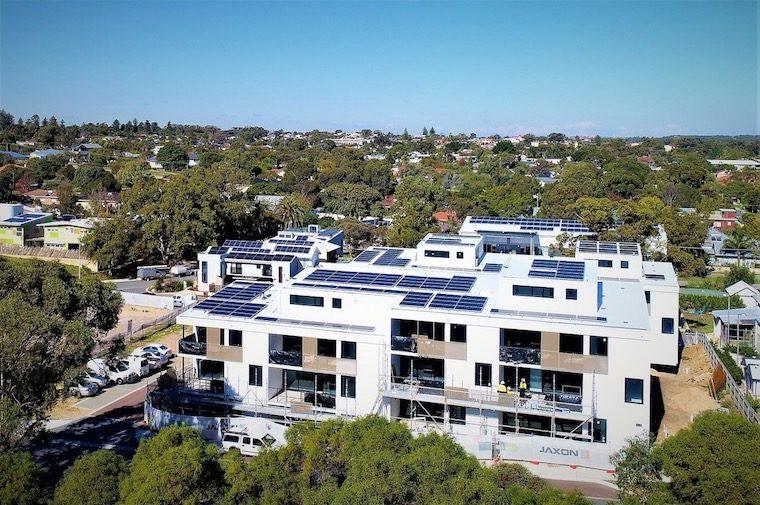blockchain energy on Evermore apartments
