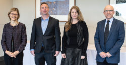 (L-R) Dr Kate Wilson, NSW Office of Environment and Heritage; Dr Matthew Soeberg, Sustainability Victoria; Kellie Caught,  Australian Council of Social Services, Professor Paul Cooper, University of Wollongong