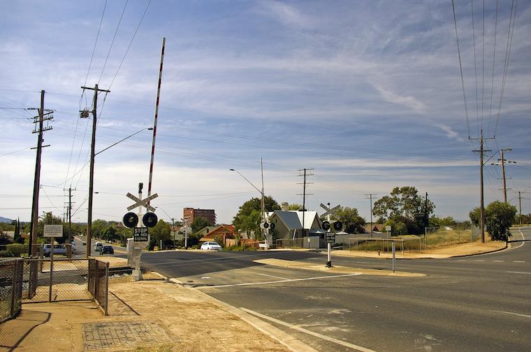 Regional Bourke Wagga Wagga crossing