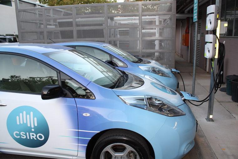 CSIRO Nissan electric vehicle