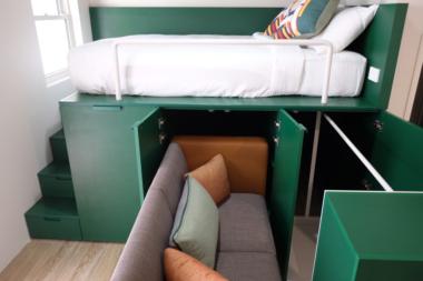 uko co-living bedroom