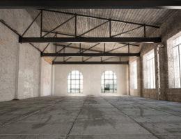 industrial empty warehouse