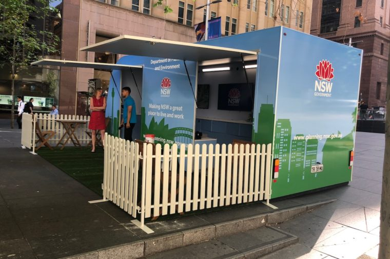 Tell the NSW planning minister what you think, face to face, todaylunchtime in Martin Place