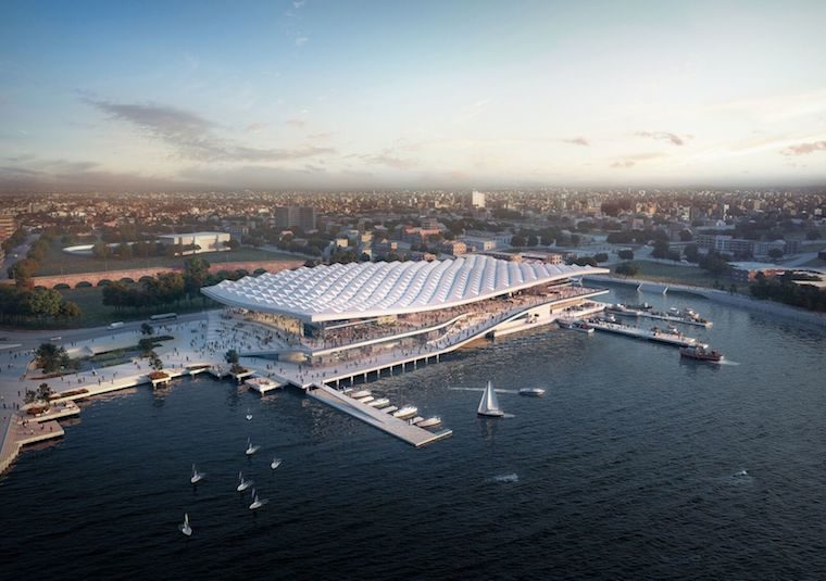 The new design for the Sydney Fish Market looks great but where's the solar?