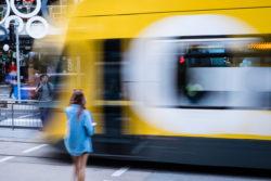 Light Rail, Gold Coast Queensland. Photo: Dawn Sajn