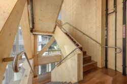 International House Interiors by Tzannes Architects won the World Architecture Festival's award for best use of certified timber supported by the Programme for Endorsement for Forest Certification (PEFC)