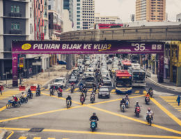 A tourist's-eye view of Malaysian transport infrastructure