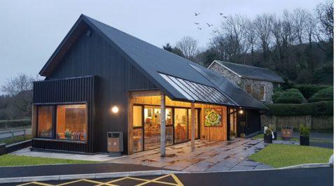 Eco-café and shop