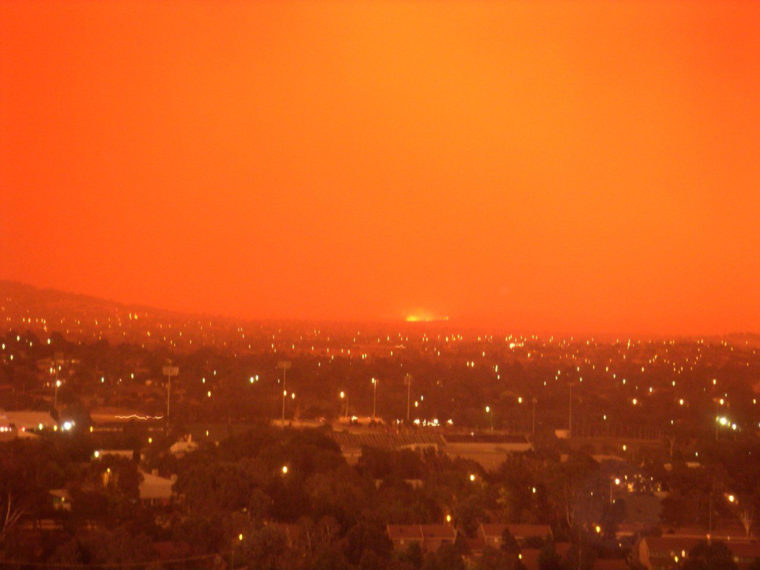 Canberra bushfire