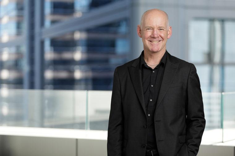 Chris Melsom, new director of the Urbis National Design team.