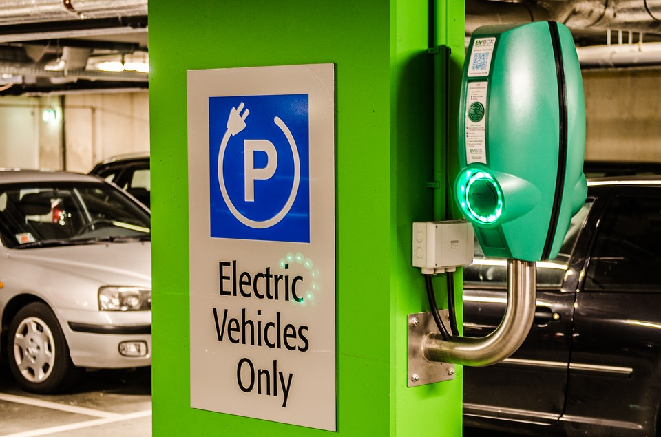 electric cars charging station