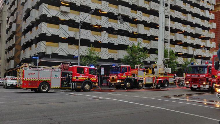 fire truck outside Neo200