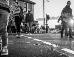 newtown enmore street crowd