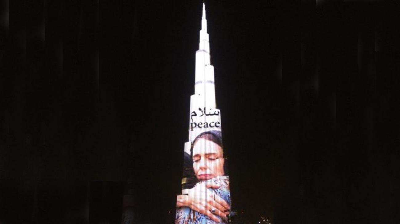 The Burj Jacinda Adern