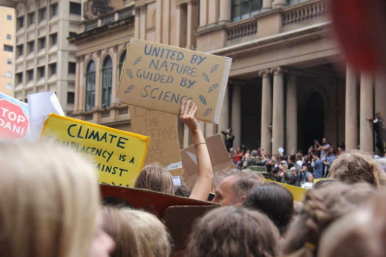 What our leaders said about the school climate change strike