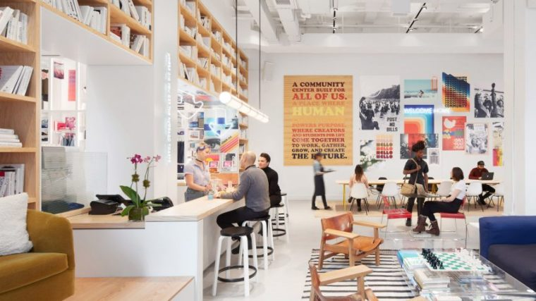 The We Company's retail space Dave Burk