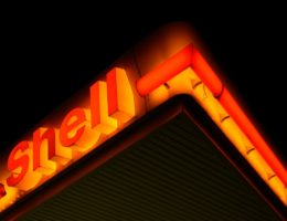 Shell oil sign