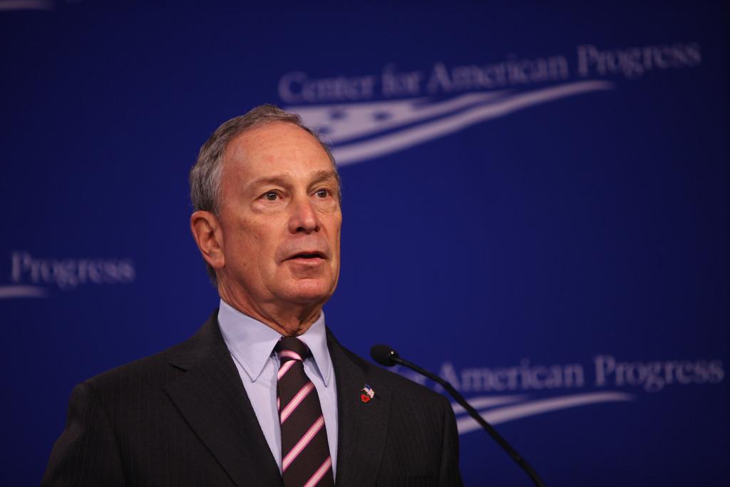 Michael Bloomberg energy