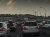 Traffic jam Aukland