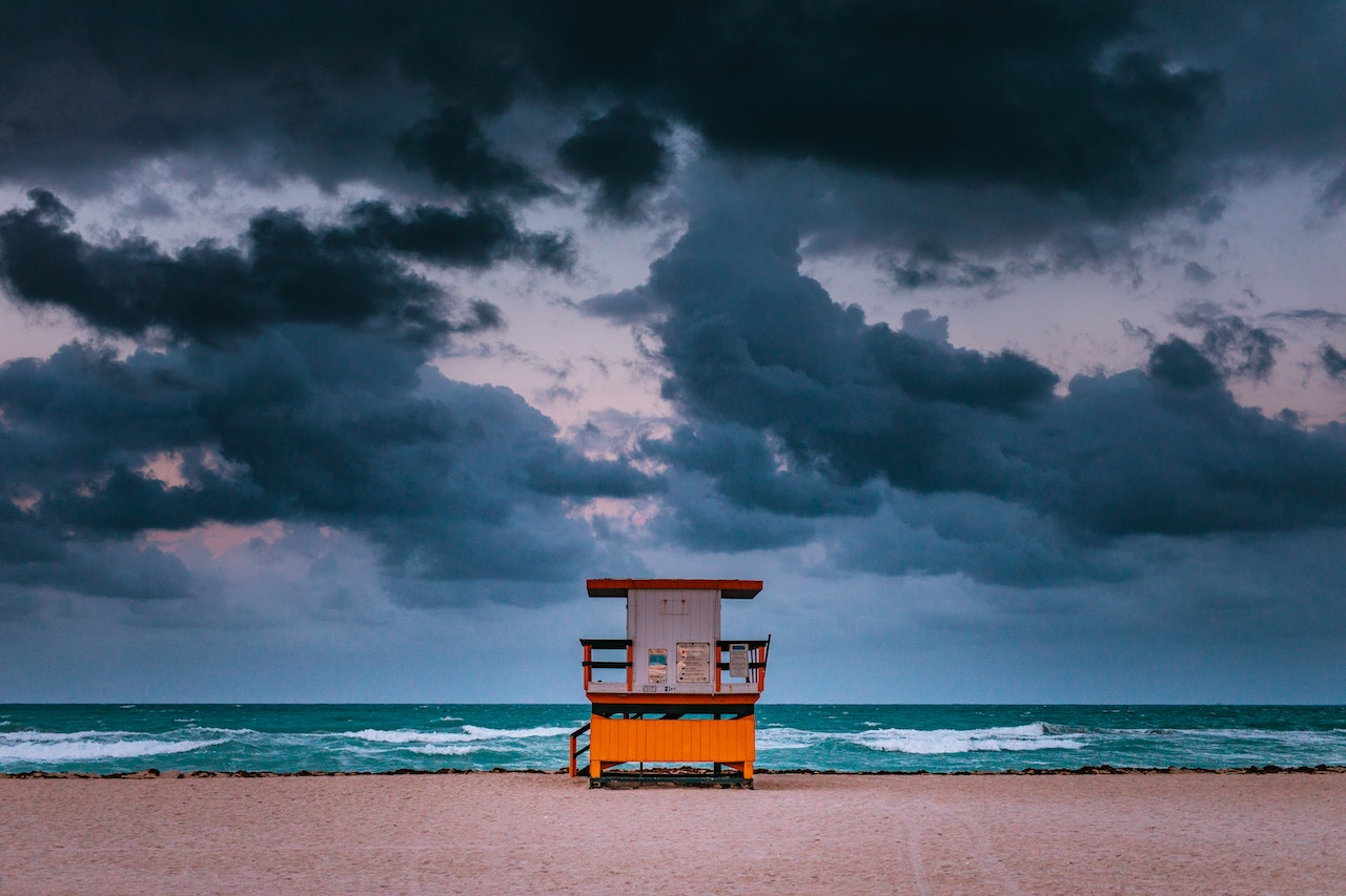 Miami Beach storm