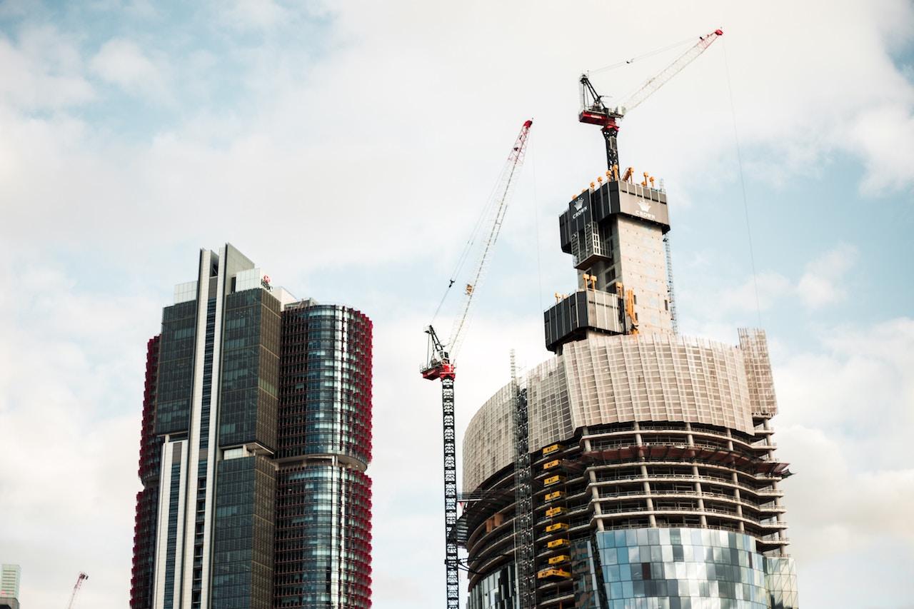 Sydney construction Barangaroo