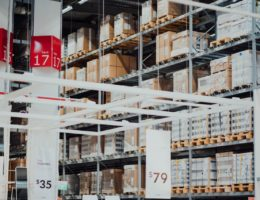 ikea warehouse Logistics concept
