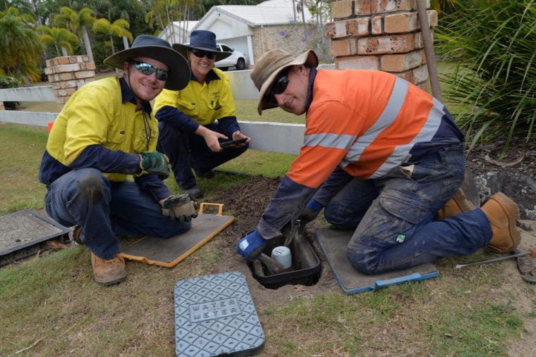 installing smart water meters