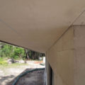 Cement sheeting for eaves