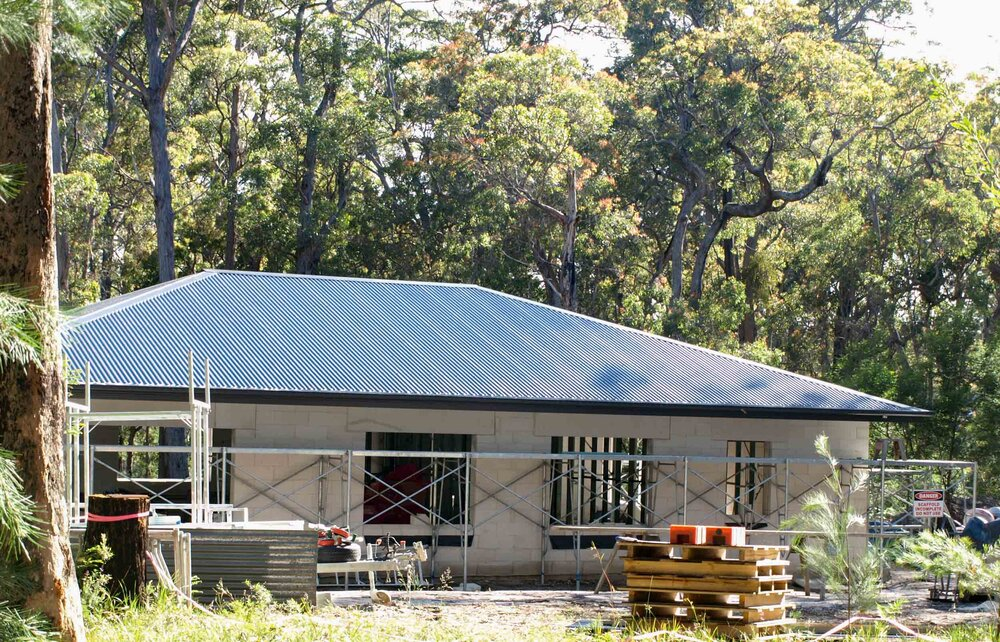 house in the bush