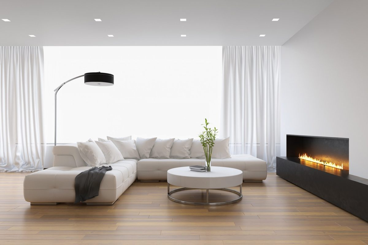 gas heater living room