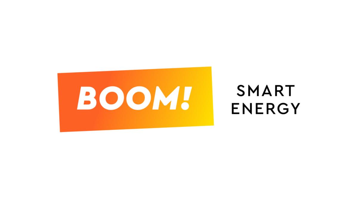 BOOMPower white logo