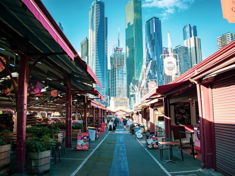 Queen Victoria Markets melbourne city