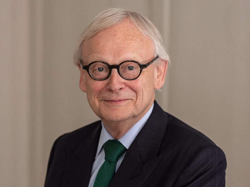 Lord Deben. Photo: Clive Barda